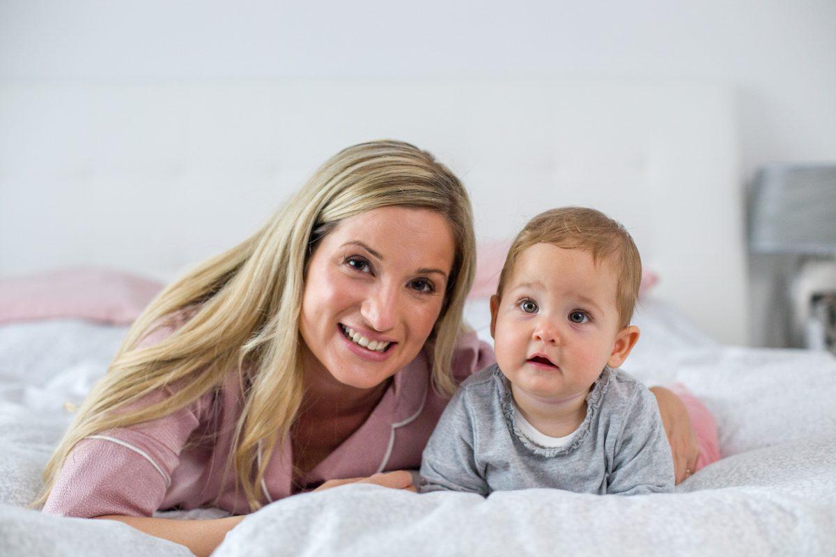 """Simon Alexandra: """"Ahhoz, hogy kiteljesedjek, hogy igazán boldog nő és anya legyek, dolgoznom is kell."""""""