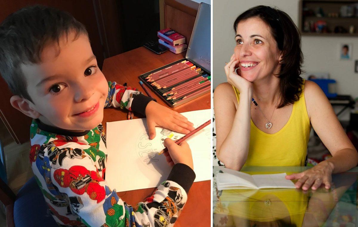 """Petres-Majsa Adrienn: """"A 3 éves kisfiamnak jobbnál jobb ötletei támadtak, ezekből született meg a mesekönyv."""""""